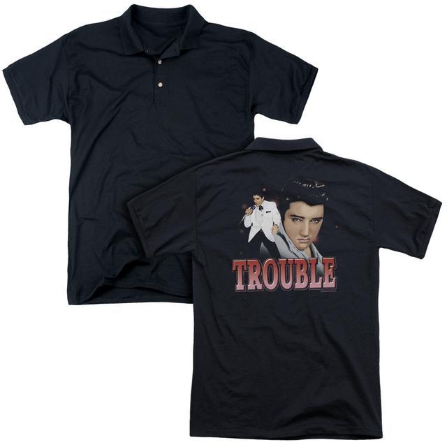 Elvis Presley TROUBLE (BACK PRINT)