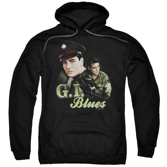 Elvis Presley Hoodie | G I BLUES Pull-Over Sweatshirt