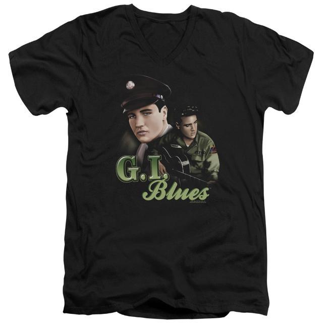 Elvis Presley T Shirt (Slim Fit) | G I BLUES Slim-fit Tee