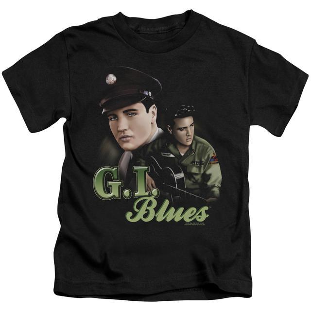 Elvis Presley Kids T Shirt   G I BLUES Kids Tee