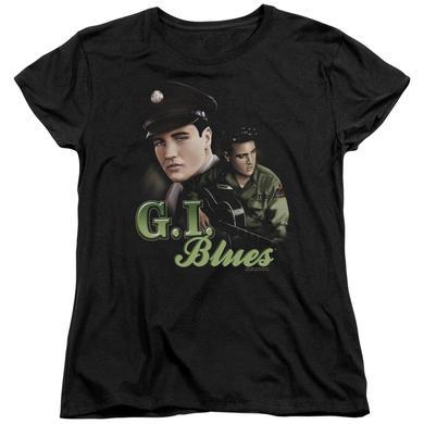 Elvis Presley Women's Shirt   G I BLUES Ladies Tee