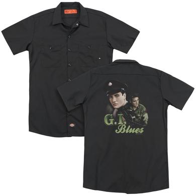 Elvis Presley G I BLUES (BACK PRINT)