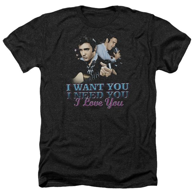 Elvis Presley Tee | I WANT YOU Premium T Shirt