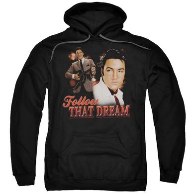 Elvis Presley Hoodie | FOLLOW THAT DREAM Pull-Over Sweatshirt