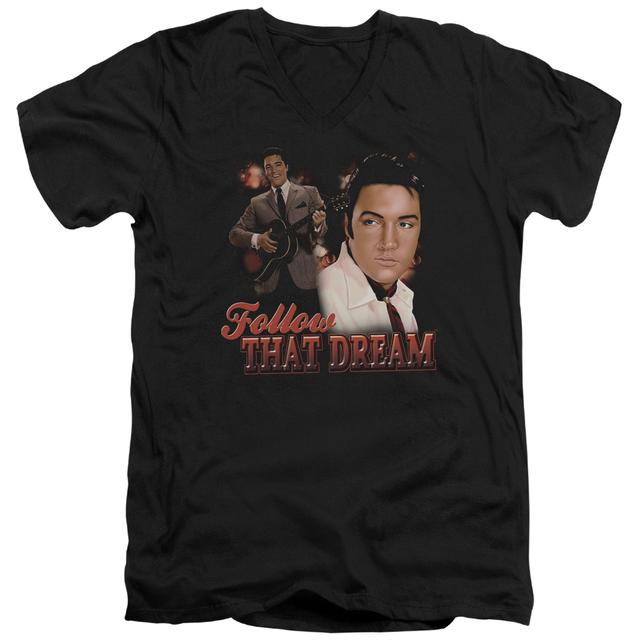 Elvis Presley T Shirt (Slim Fit) | FOLLOW THAT DREAM Slim-fit Tee