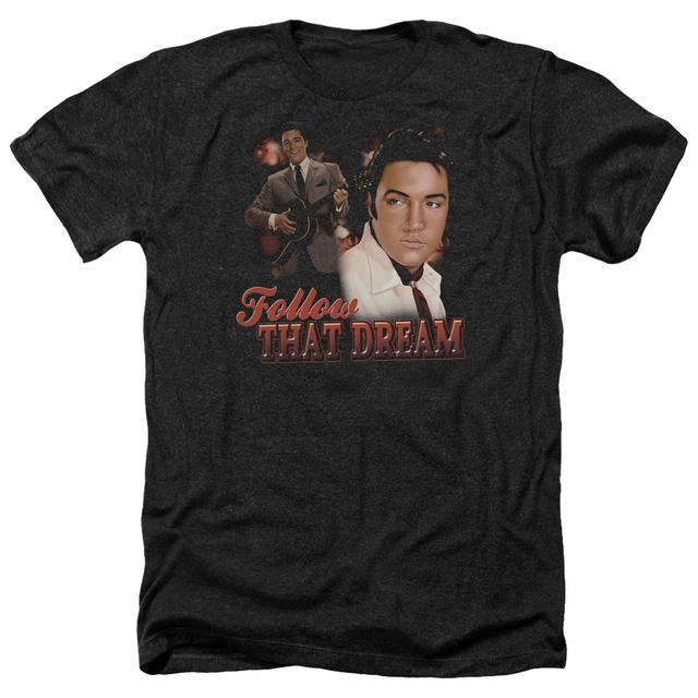 Elvis Presley Tee | FOLLOW THAT DREAM Premium T Shirt