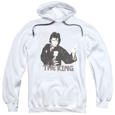 Elvis Presley Hoodie | FIGHTING KING Pull-Over Sweatshirt