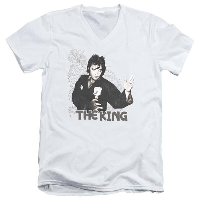 Elvis Presley T Shirt (Slim Fit) | FIGHTING KING Slim-fit Tee