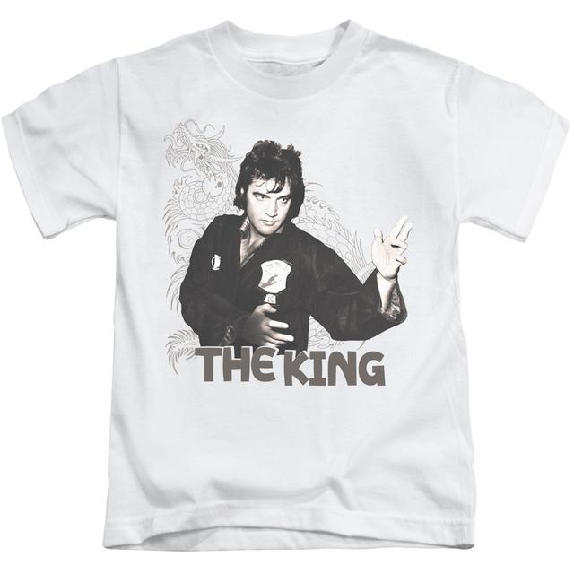 Elvis Presley Kids T Shirt | FIGHTING KING Kids Tee