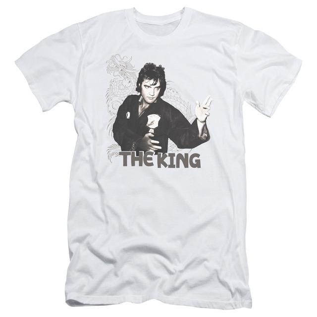 Elvis Presley Slim-Fit Shirt | FIGHTING KING Slim-Fit Tee