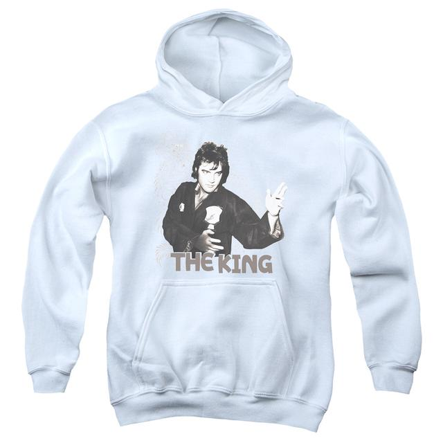 Elvis Presley Youth Hoodie | FIGHTING KING Pull-Over Sweatshirt