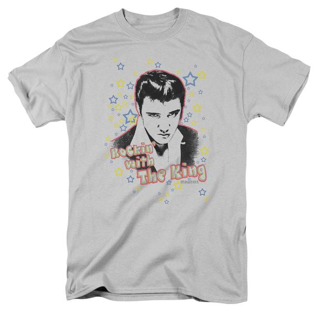 Elvis Presley Shirt | ROCKIN WITH THE KING T Shirt