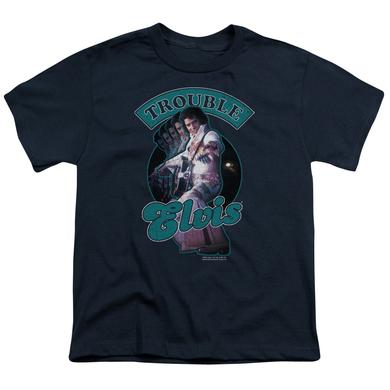 Elvis Presley Youth Tee | TOTAL TROUBLE Youth T Shirt