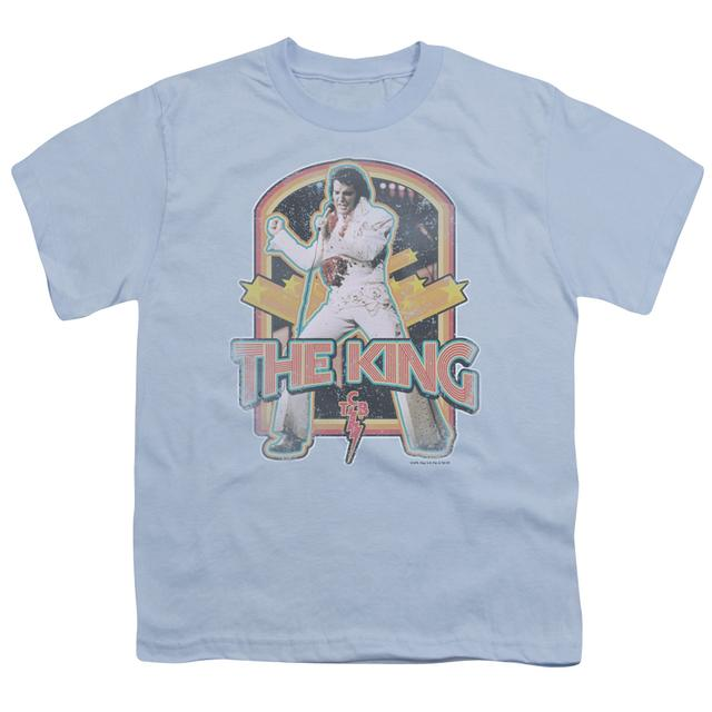 Elvis Presley Youth Tee | DISTRESSED KING Youth T Shirt