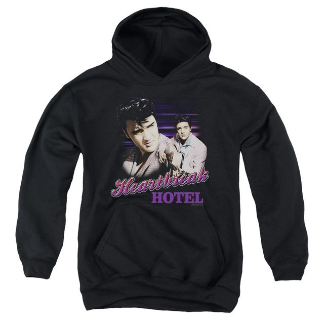 Elvis Presley Youth Hoodie | HEARTBREAK HOTEL Pull-Over Sweatshirt