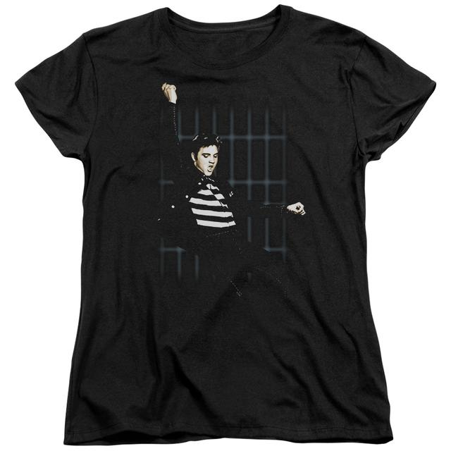 Elvis Presley Women's Shirt | BLUE BARS Ladies Tee
