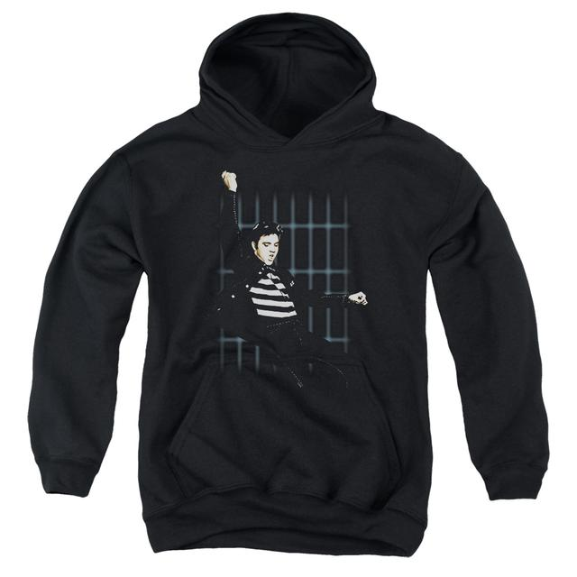 Elvis Presley Youth Hoodie | BLUE BARS Pull-Over Sweatshirt
