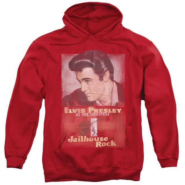 Elvis Presley Hoodie | JAILHOUSE ROCK POSTER Pull-Over Sweatshirt