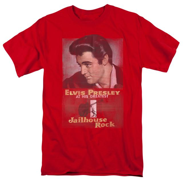 Elvis Presley Shirt | JAILHOUSE ROCK POSTER T Shirt
