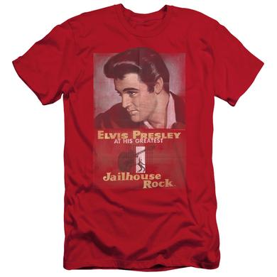 Elvis Presley Slim-Fit Shirt | JAILHOUSE ROCK POSTER Slim-Fit Tee