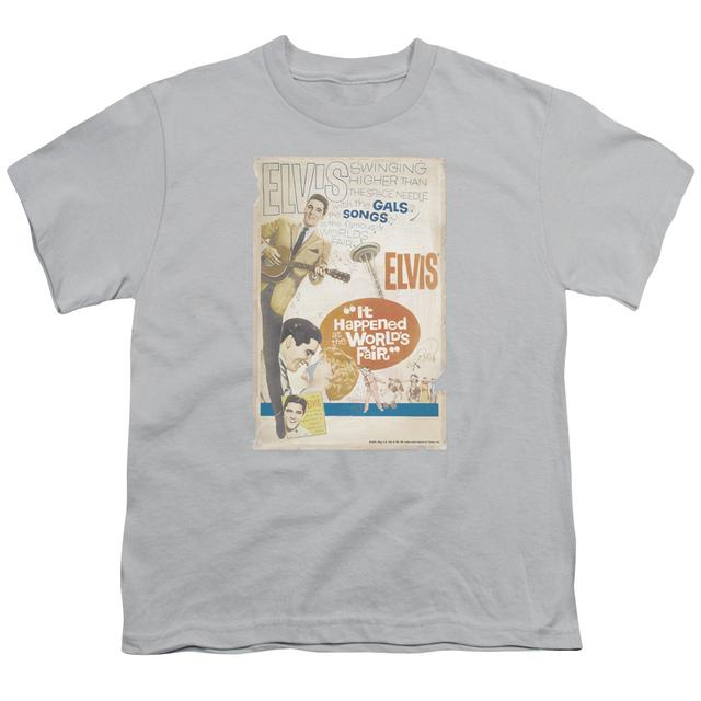 Elvis Presley Youth Tee | WORLD FAIR POSTER Youth T Shirt