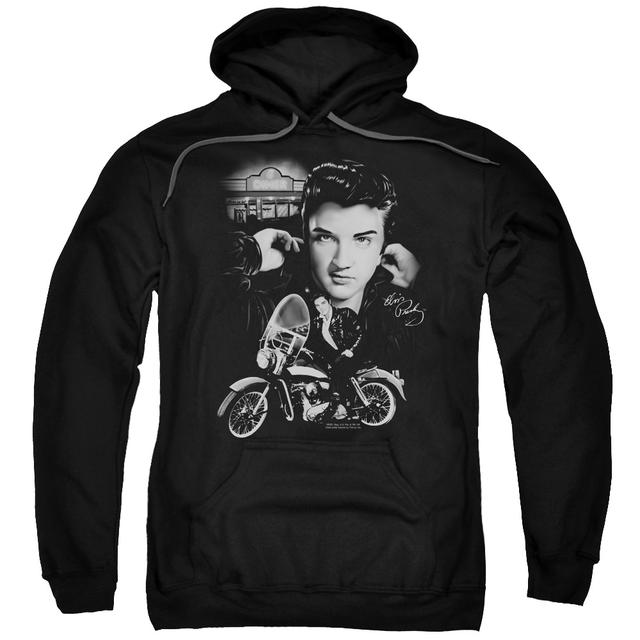 Elvis Presley Hoodie | THE KING RIDES AGAIN Pull-Over Sweatshirt