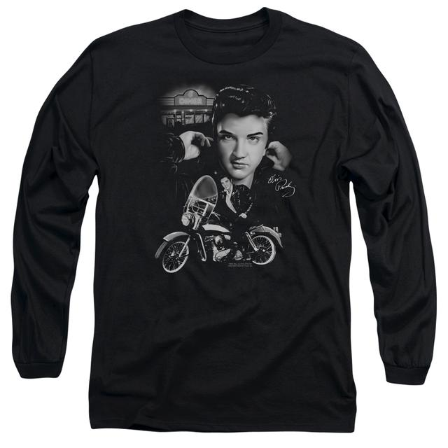 Elvis Presley T Shirt | THE KING RIDES AGAIN Premium Tee