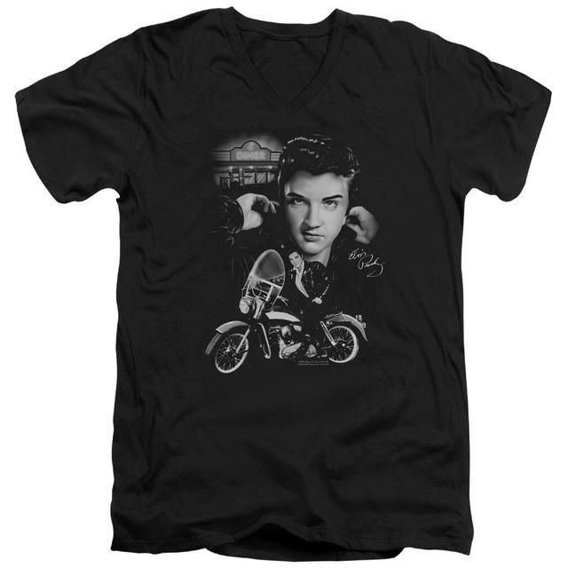 Elvis Presley T Shirt (Slim Fit) | THE KING RIDES AGAIN Slim-fit Tee