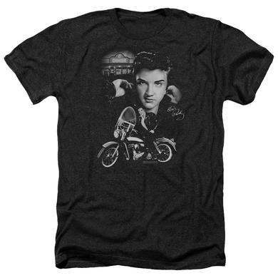 Elvis Presley Tee | THE KING RIDES AGAIN Premium T Shirt