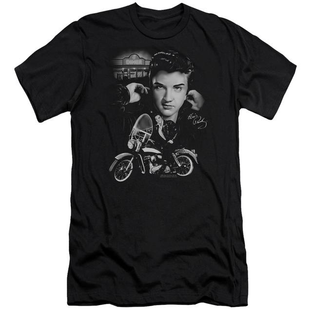 Elvis Presley Slim-Fit Shirt | THE KING RIDES AGAIN Slim-Fit Tee