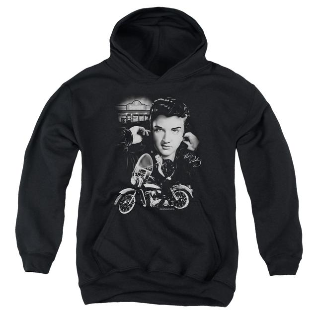 Elvis Presley Youth Hoodie | THE KING RIDES AGAIN Pull-Over Sweatshirt