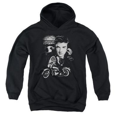Elvis Presley Youth Hoodie | THE KING RIDES AGAIN Pull-Over Sweatshirt