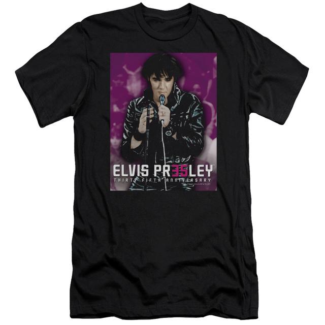 Elvis Presley Slim-Fit Shirt | 35 LEATHER Slim-Fit Tee