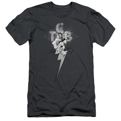 Elvis Presley Slim-Fit Shirt | TCB ORNATE Slim-Fit Tee