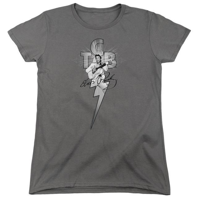 Elvis Presley Women's Shirt | TCB ORNATE Ladies Tee