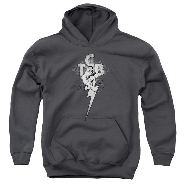 Elvis Presley Youth Hoodie | TCB ORNATE Pull-Over Sweatshirt