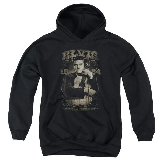 Elvis Presley Youth Hoodie | 1954 Pull-Over Sweatshirt