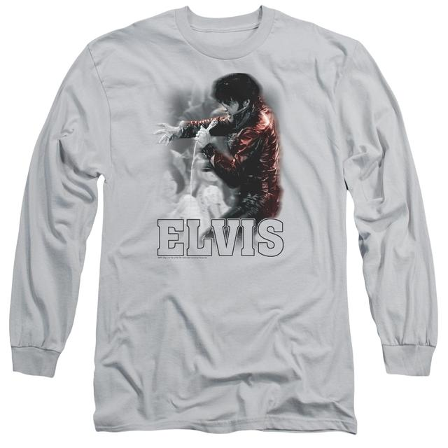 Elvis Presley T Shirt | BLACK LEATHER Premium Tee