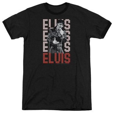 Elvis Presley Shirt | 1968 Premium Ringer Tee