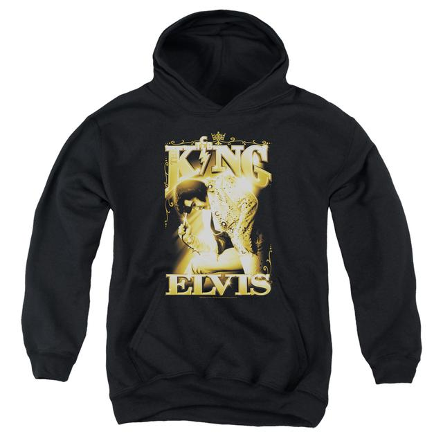 Elvis Presley Youth Hoodie | THE KING Pull-Over Sweatshirt