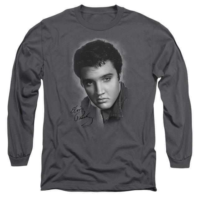 Elvis Presley T Shirt | GREY PORTRAIT Premium Tee