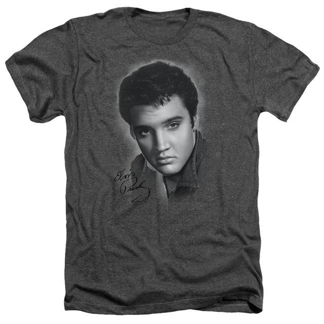 Elvis Presley Tee | GREY PORTRAIT Premium T Shirt