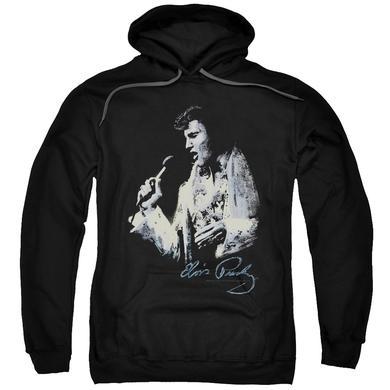 Elvis Presley Hoodie   PAINTED KING Pull-Over Sweatshirt