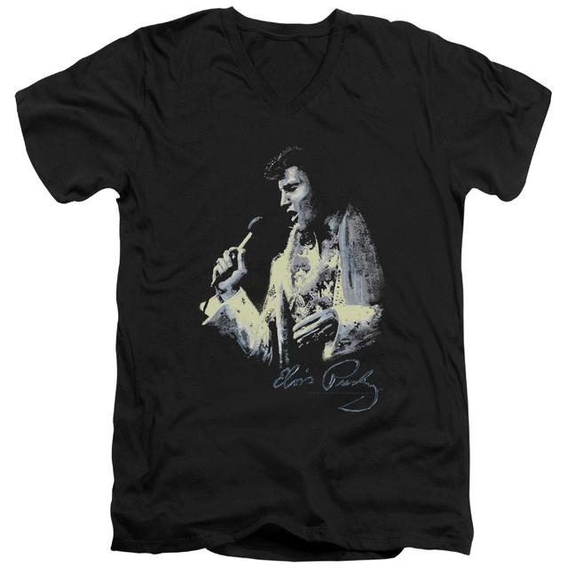 Elvis Presley T Shirt (Slim Fit) | PAINTED KING Slim-fit Tee