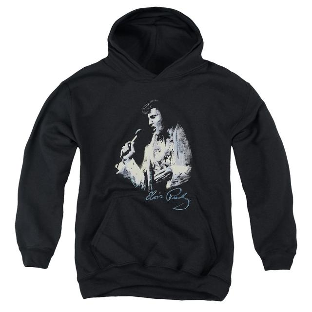 Elvis Presley Youth Hoodie | PAINTED KING Pull-Over Sweatshirt