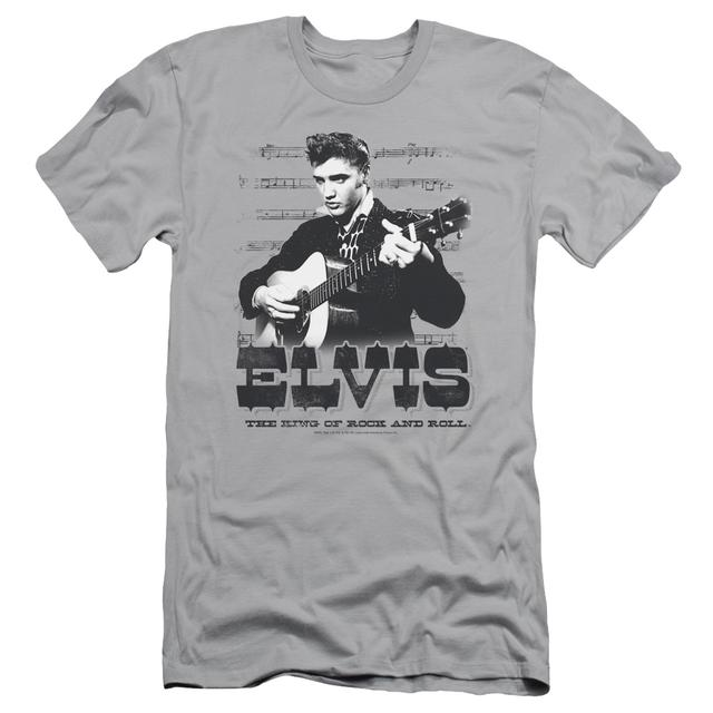 Elvis Presley Slim-Fit Shirt | THE KING OF Slim-Fit Tee