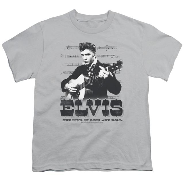 Elvis Presley Youth Tee | THE KING OF Youth T Shirt