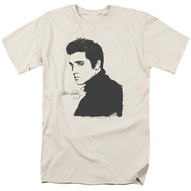 Elvis Presley Shirt | BLACK PAINT T Shirt