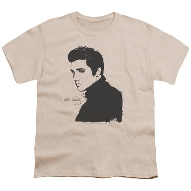 Elvis Presley Youth Tee | BLACK PAINT Youth T Shirt