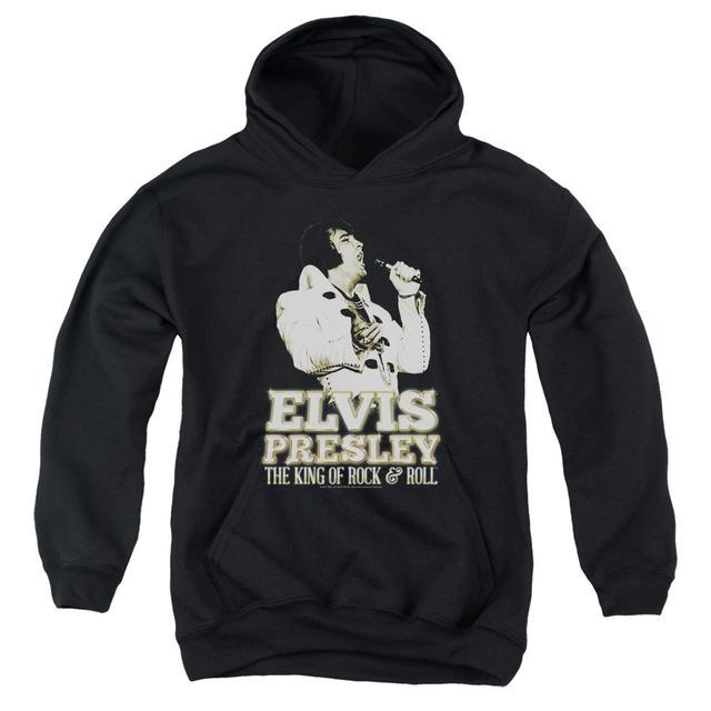 Elvis Presley Youth Hoodie | GOLDEN Pull-Over Sweatshirt